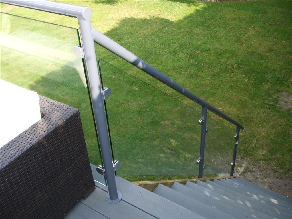 Balustrade That We Fixed To Garden Decking