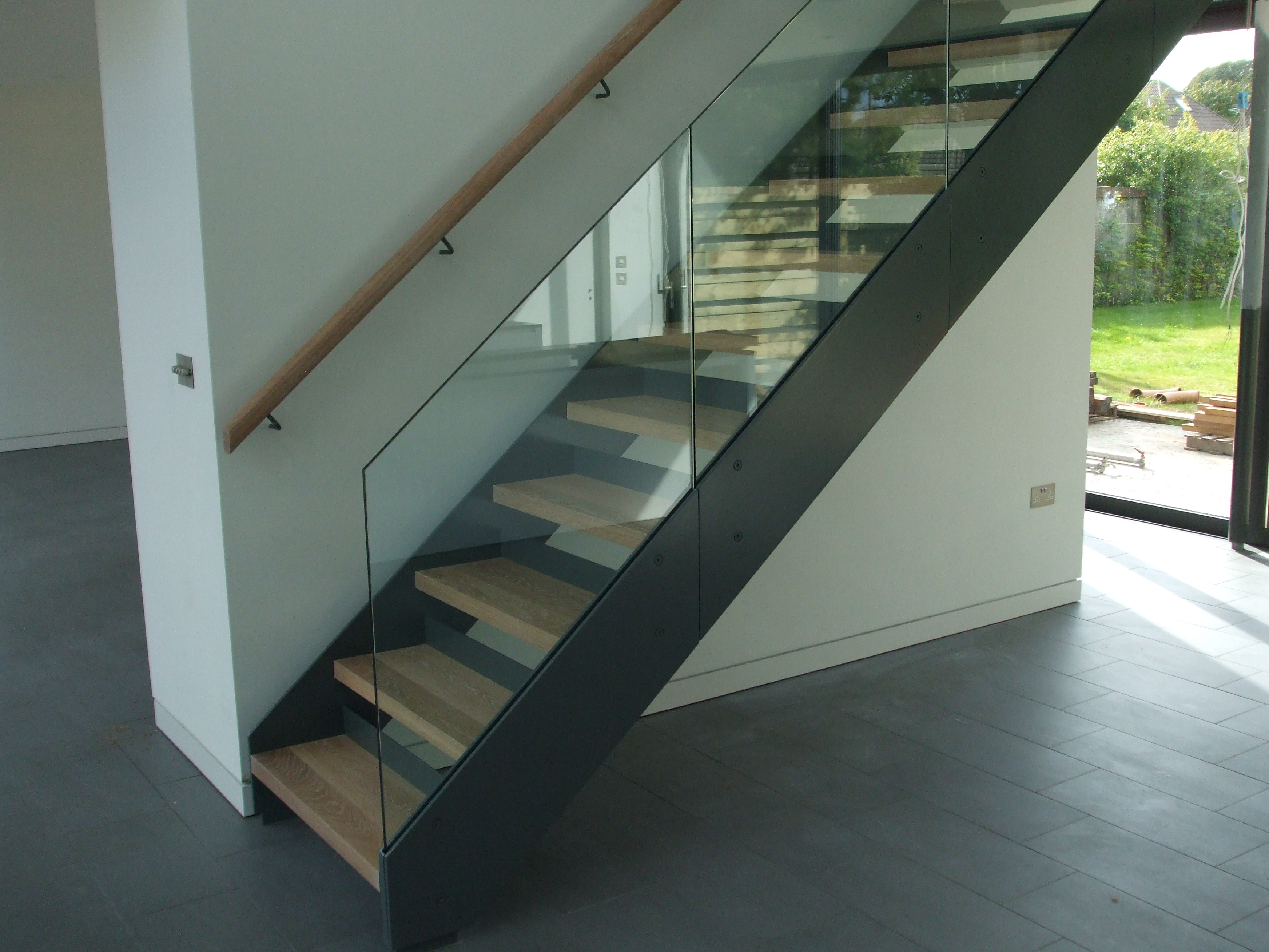 Lovely Staircase At New Build House